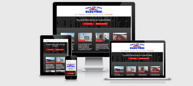 Grand Forks Electrician Website - North Star States Electric