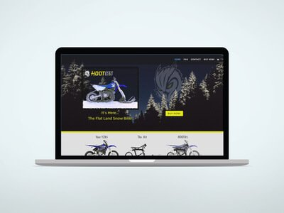 Hoot Bikes – Website Build – Online Store – Marketing & Features