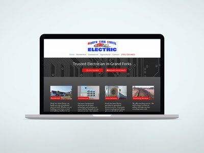 Electrician Website Design and Local Marketing